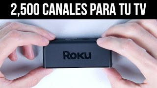 Download ¡AGREGA 2500 CANALES A TU TV! - Unboxing / Reseña Roku Express+ Video
