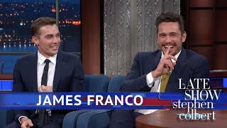 Download James Franco Does BYOB (Bring Your Own Brother) Video