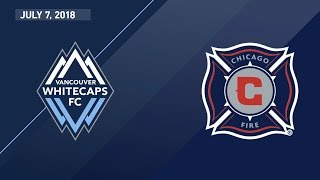 Download HIGHLIGHTS: Vancouver Whitecaps FC vs. Chicago Fire | July 7, 2018 Video