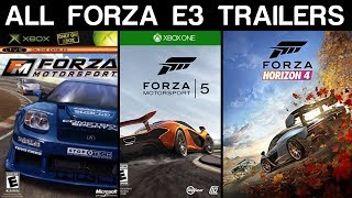 Download Evolution of Forza E3 Trailers (2005 - 2018) Video
