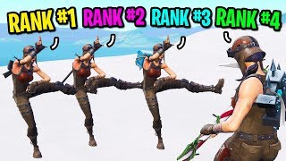 Download We created the biggest TRYHARD squad ever in Fortnite... (4 RENEGADE RAIDERS!) Video