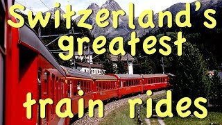 Download Great Swiss Train Rides Video