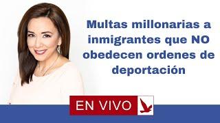 Download El gobierno pone multas millonarias a inmigrantes que no obedecen ordenes de deportacion Video