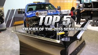 Download Top 5 Best Trucks of the 2016 SEMA Show Video