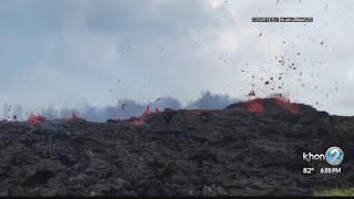 Download 18th fissure opens west of Highway 132, Hale Kamahina Loop Road ordered to evacuate Video