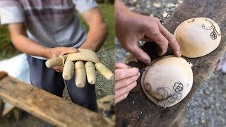Download Creative ideas craft old man use bamboo and wood make beautiful DIY Video