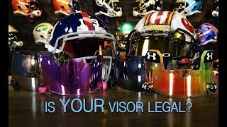 Download When Are Tinted Visors Legal For Football? Video