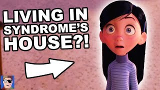 Download The Incredibles Are Living In Syndrome's House | Pixar Theory Video