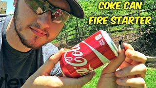 Download Can You Start a Fire with Coke Can? Video