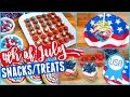 Download DIY Fourth of July Snacks and Treats! Video