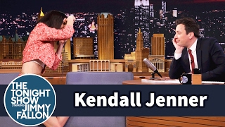 Download Jimmy Fallon Models for a Kendall Jenner Photo Shoot Video
