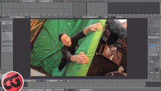 Download Beginner Blender VFX Tutorial Greenscreen - Masking! Video