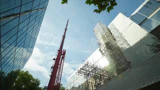 Download Central library riser installation Video