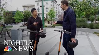 Download Electric Scooters Banned In San Francisco   NBC Nightly News Video
