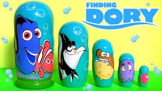 Download Disney Finding Nemo Dory Stacking Cups Nesting Toys Surprise Secret Life of Pets Mashems toys Video
