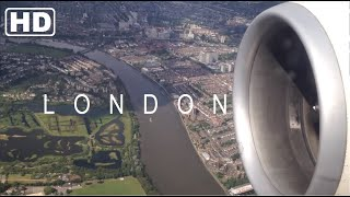 Download London Heathrow Spectacular Landing - Awesome Quality - PIA - Boeing 777-300ER - HD Video