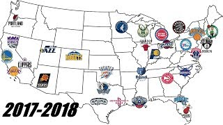 Download NBA Team Logos Through The Years (1949-2018) | 70 Years of NBA History! Video