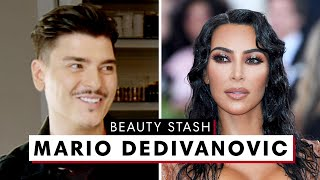 Download Kim Kardashian's Makeup Artist Mario Dedivanovic's MAJOR Beauty Stash | Harper's BAZAAR Video