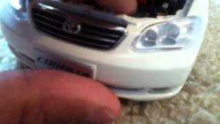 Download E120 toyota corolla by paudi model unboxing Video