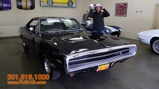 Download 1970 Dodge Charger HEMI R/T for sale with test drive, driving sounds, and walk through video Video