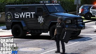 Download GTA 5 LSPDFR Police Mod 474 | Riot Police Respond To Multiple Protest & Demonstrations In The City Video