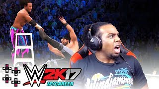 Download CLIMB THE LADDER, KID! (AUSTIN CREED for WWE 2K18?) — WWE 2K17 MyCareer #40 Video