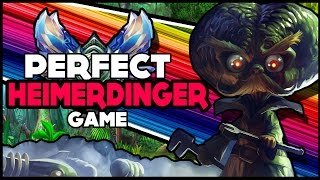 Download THE PERFECT HEIMERDINGER GAME | Diamond Ranked - League of Legends Video
