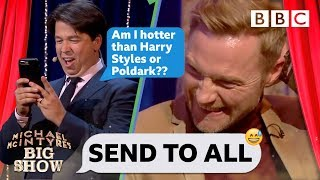 Download Send To All with Ronan Keating | Michael McIntyre's Big Show - BBC Video