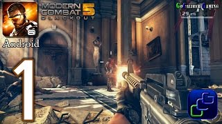 Download Modern Combat 5: Blackout Android Walkthrough - Gameplay Part 1 - Chapter 1: Venice The Lie Video