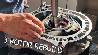 Download The most beautiful ROTARY ENGINE rebuild! Abel assembles the 3 Rotor Video