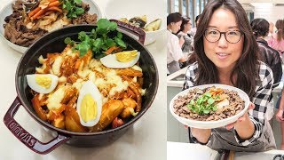 Download Making Spicy Korean Rice Cakes 🍳 Cooking Class in Seoul Video