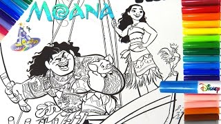 Download Marcador o Rotulador Mágico de Moana y Maui Vaiana y Maui en Español de Magic Ink Video