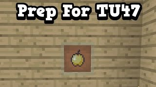 Download Minecraft Xbox One / PS4 - 5 WAYS TO PREPARE FOR TU47 Video