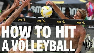 Download How to Hit a Volleyball - Arm Swing Mechanics Video