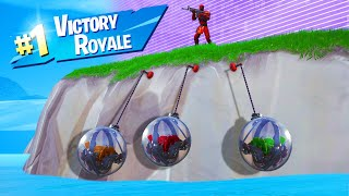 Download WINNING While ONLY HANGING In FORTNITE! (*NEW* BALL Vehicle) Video