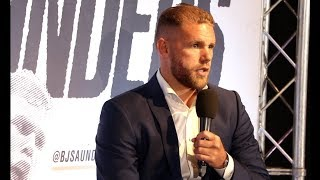 Download 'CHRIS EUBANK JR IS A WORLD CLASS BUM - I WOULD BEAT HIM WITH MY EYES CLOSED!' - BILLY JOE SAUNDERS Video