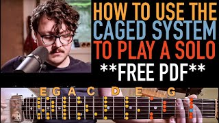 Download How to use the CAGED system to play a SOLO Video