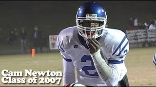 Download Cam Newton - Junior Year at Westlake High School in Atlanta Video