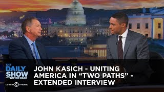 Download John Kasich - Uniting America in ″Two Paths″ - Extended Interview: The Daily Show Video