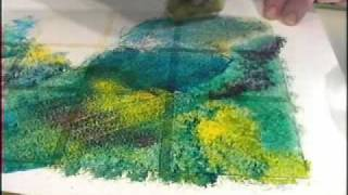 Download Glass Painting: Sponging and Stippling Video