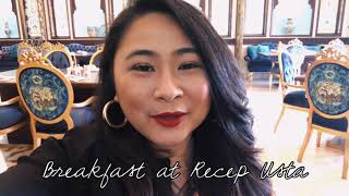 Download Come Dine with Me: Breakfast at Recep Usta | Karen Faith Vlogs Video
