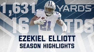 Download Ezekiel Elliott 2016 Rookie Season Highlights | Dallas Cowboys | NFL Video