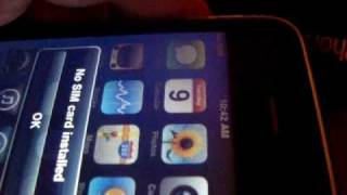 Download ″No SIM card installed″ Iphone problem error temporary fix Video