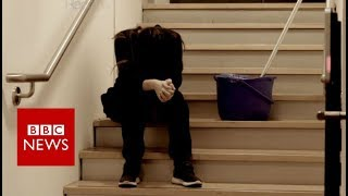 Download The college cleaner no-one knew was a slave - BBC News Video