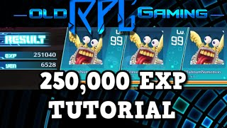 Download Digimon Story Cyber Sleuth - 250,00 EXP Grinding Tutorial - Lvl 1-99 in MINUTES !! Video