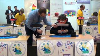 Download World record: Solving Rubik's Cube blindfolded Video