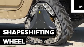 Download The Military Is Developing A Shapeshifting Wheel That Is Capable Of Transforming In Just 2 Seconds Video