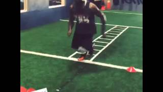 Download Andrew Hawkins has a phenomenal footwork! Video
