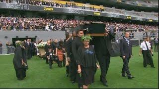 Download One final haka as New Zealand bids emotional farewell to Jonah Lomu Video