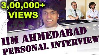 Download IIM Ahmedabad Personal Interview - Rohan Jain - 99.96 %ile in CAT Video